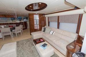 66' Neptunus Enclosed Skylounge 2005 Salon to Starboard
