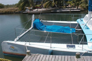 50' Custom Day Sail Charter 50 1984 Next Wave forward view
