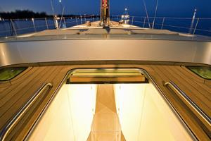 100' Wally 100 2002 Deck - companionway