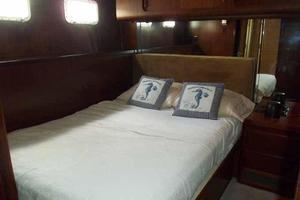 77' Hatteras Cockpit Motoryacht 1987 Starboard Side Cabin