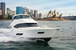 52' Riviera ENCLOSED FLYBRIDGE- ON ORDER! 2019 Riviera Yachts 52 Flybridge Running in Sydney Harbor