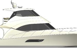 52' Riviera Enclosed Flybridge- On Order! 2019 Riviera Yachts 52 Flybridge Profile