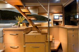 52' Riviera Enclosed Flybridge- On Order! 2019 RivieraYachts52FlybridgeStairstoBridge