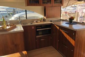 54' Riviera 5400 Sport Yacht-AVAILABLE NOW! 2017 Riviera 5400 Sport Yacht Galley