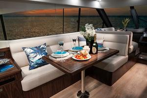 54' Riviera 5400 Sport Yacht-AVAILABLE NOW! 2017 Riviera 5400 Sport Yacht Dinette