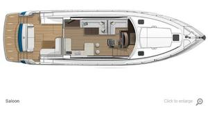 54' Riviera 5400 Sport Yacht-AVAILABLE NOW! 2017 Riviera 5400 Sport Yacht Main Deck Layout