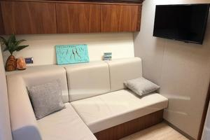 54' Riviera 5400 Sport Yacht-AVAILABLE NOW! 2017 Riviera 5400 Sport Yacht Lower Lounge