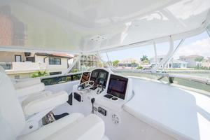 64' Hatteras 64 Motor Yacht 2008 Flybridge Helm
