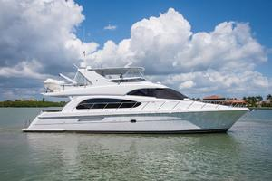 64' Hatteras 64 Motor Yacht 2008 Starboard Profile