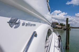64' Hatteras 64 Motor Yacht 2008 Starboard Side Deck