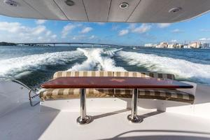 64' Hatteras 64 Motor Yacht 2008 Aft Deck