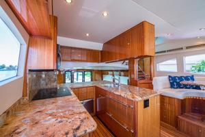 64' Hatteras 64 Motor Yacht 2008 Galley