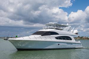 64' Hatteras 64 Motor Yacht 2008 Port profile