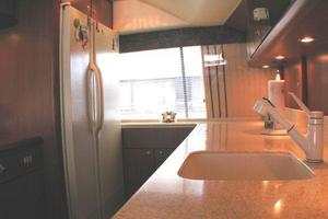 56' Ocean Yachts Supersport 2000 Galley