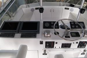52' Hatteras 52 Convertible 1987 Helm and Electronics