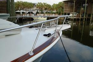 52' Hatteras 52 Convertible 1987 Bow