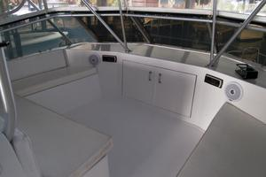 52' Hatteras 52 Convertible 1987 Flybridge Forward Seating