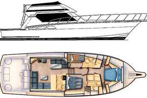 50' Hatteras 50 Convertible 2000 Manufacturer Provided Image