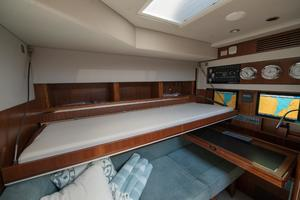 51' Sealine C48 2013 Lower Study with pullman
