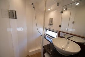 51' Sealine C48 2013 Master ensuite head with shower