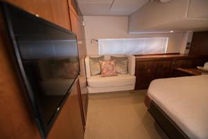 51' Sealine C48 2013 Master Stateroom with seating