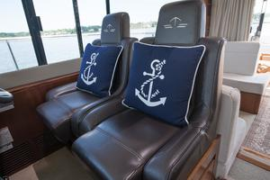 51' Sealine C48 2013 Captain's chairs