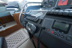 51' Sealine C48 2013 Raymarine command center and VHF
