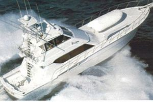 60' Hatteras Enclosed Bridge Convertible 1999 1999 Photo 1