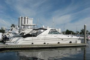 60' Sea Ray 600 Sun Sport 2003 Strbrd Profile