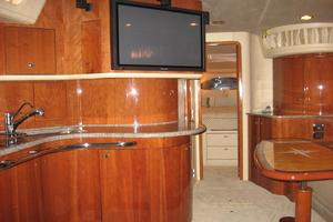 60' Sea Ray 600 Sun Sport 2003 Salon Entertainment