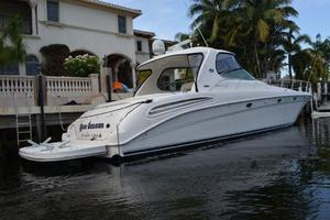 55' Sea Ray 550 Sundancer 2004 Strbrd Profile