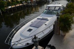 55' Sea Ray 550 Sundancer 2004 Looking Aft