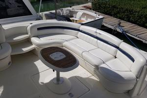 52' Sea Ray 52 Sundancer 2008 CockpitAftSettee