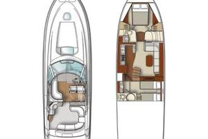 48' Sea Ray 48 Sundancer 2007 Vessel Layout