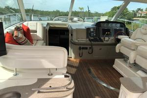48' Sea Ray 48 Sundancer 2007 Spacious Helm Area