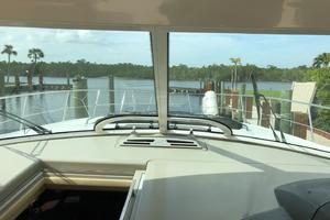 48' Sea Ray 48 Sundancer 2007 View from Helm