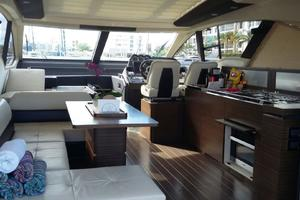 55' Azimut 55s 2016 Salon - Through Sliding Glass Doors