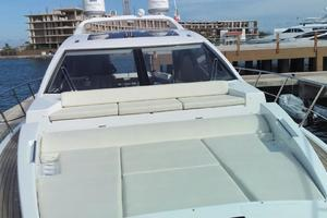 55' Azimut 55S 2016 Bow Looking Aft