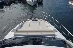 55' Azimut 55s 2016 Spacious Bow Lounging Area