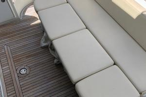 40' Azimut 40S 2012 Cockpit w/ Teak Flooring