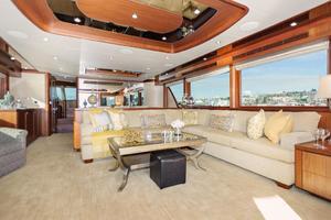 90' Ocean Alexander Skylounge Motoryacht 2012 Salon