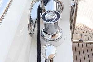 90' Ocean Alexander Skylounge Motoryacht 2012 Aft Deck Capstans