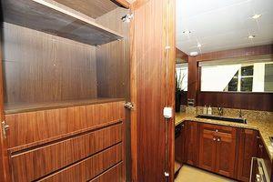 90' Ocean Alexander Skylounge Motoryacht 2012 Galley Pantry