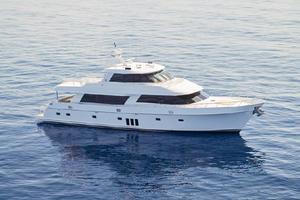 90' Ocean Alexander Skylounge Motoryacht 2012 Profile of 90