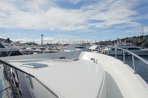 90' Ocean Alexander Skylounge Motoryacht 2012 Foredeck