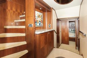 90' Ocean Alexander Skylounge Motoryacht 2012 Foyer Lower Level