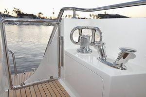 90' Ocean Alexander Skylounge Motoryacht 2012 Transom Gate
