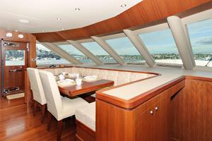 90' Ocean Alexander Skylounge Motoryacht 2012 Seating View