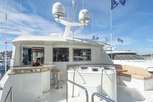 90' Ocean Alexander Skylounge Motoryacht 2012 Boat Deck/Juccuzzi