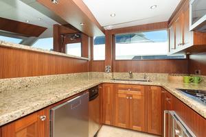 90' Ocean Alexander Skylounge Motoryacht 2012 Galley
